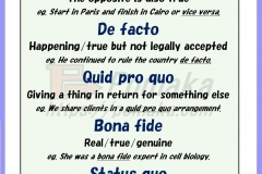 Latin phrases in English