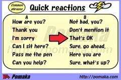 Quick reactions