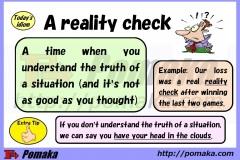 A reality check