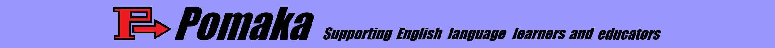Pomaka English